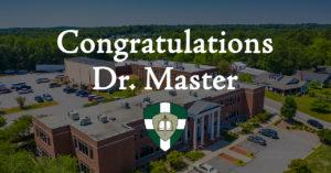 Congratulations, Dr. Master